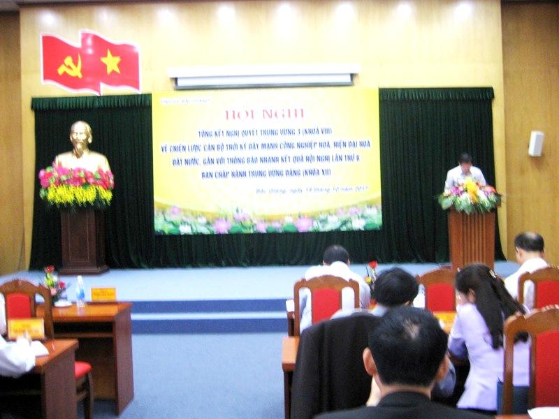 Bắc Giang: Thông báo nhanh kết quả Hội nghị BCH Trung ương lần thứ VI